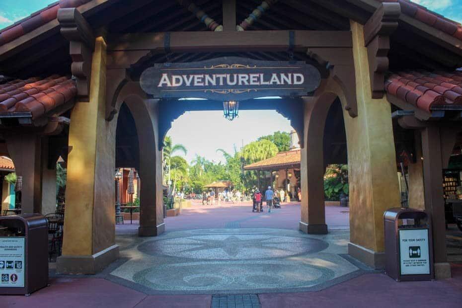 Adventureland at Magic Kingdom in Disney World