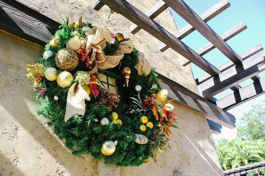 Animal Kingdom Christmas decorations