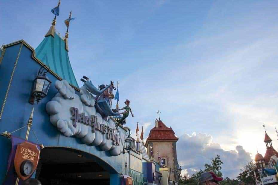 fantasyland rides disney world