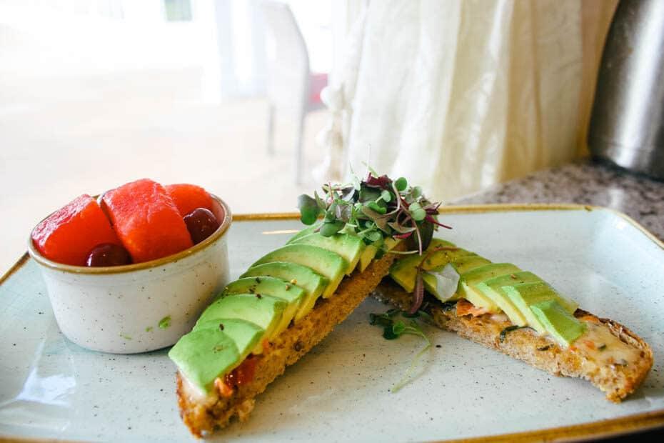 Grand Floridian Cafe Avocado Toast