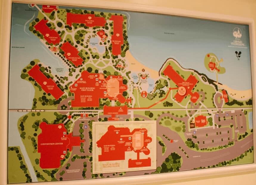 Grand Floridian Villas Map