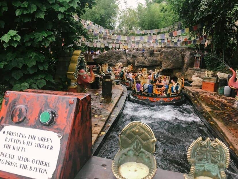 Kali River Rapids at Disney World
