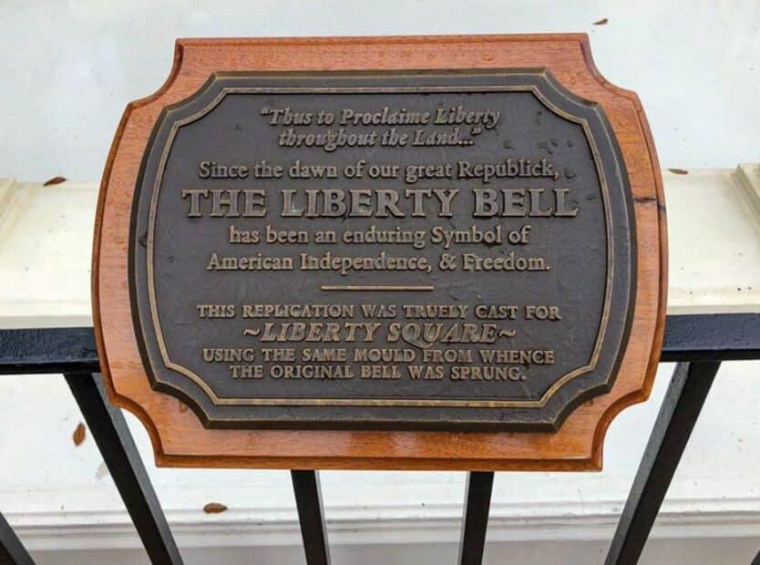 liberty bell disney world