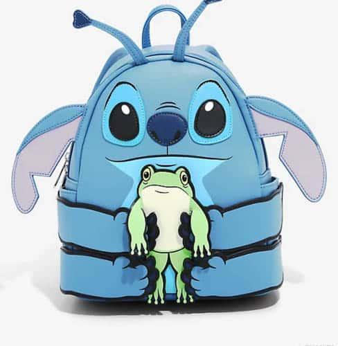 Stitch and Frog Loungefly Disney