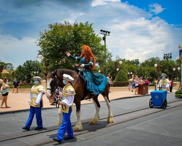 Main Street Horses at Magic Kingdom