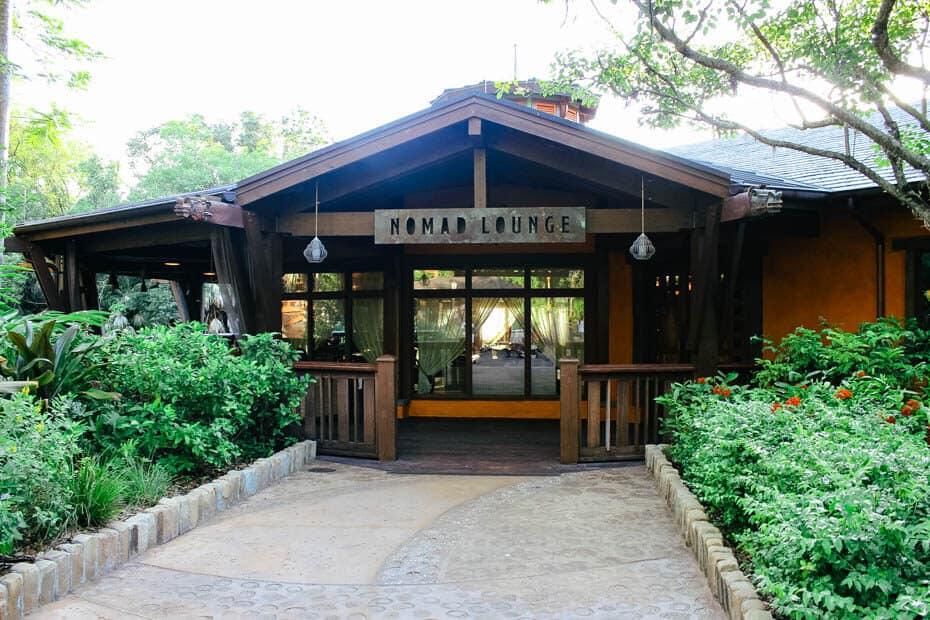 Nomad Lounge entrance
