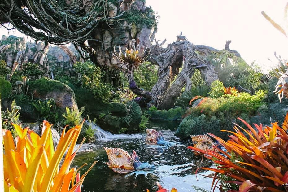 Pandora Animal Kingdom's World of Avatar