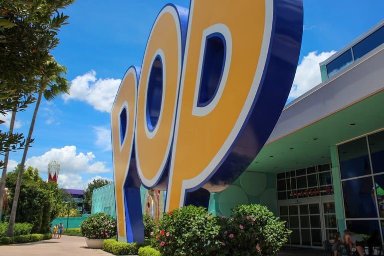 Pop Century Resort at Disney