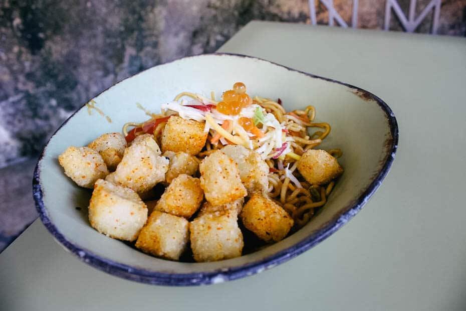 Tofu at Satu'li Canteen