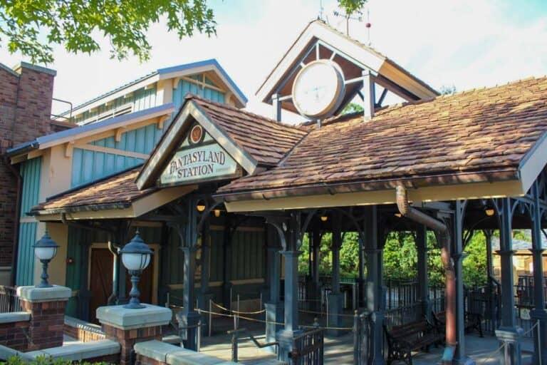 Fantasyland Station at Magic Kingdom