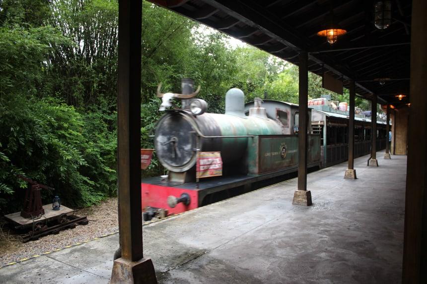 Wildlife Express Train at Disney's Animal Kingdom
