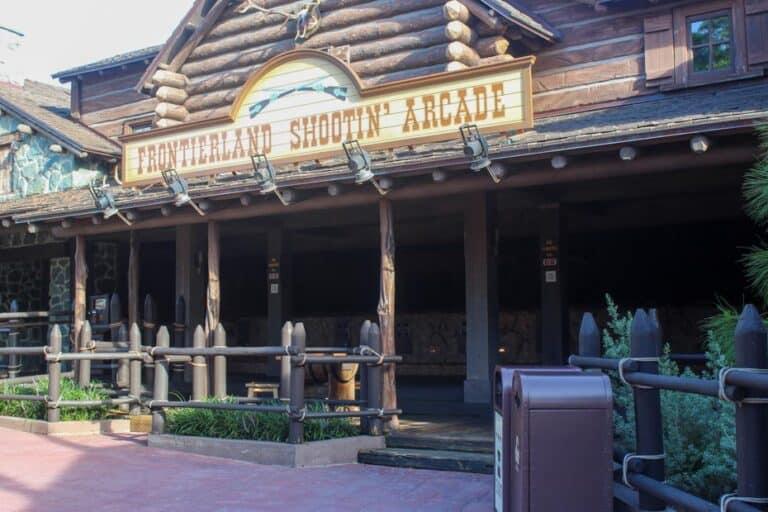 Frontierland Shootin' Arcade at Magic Kingdom