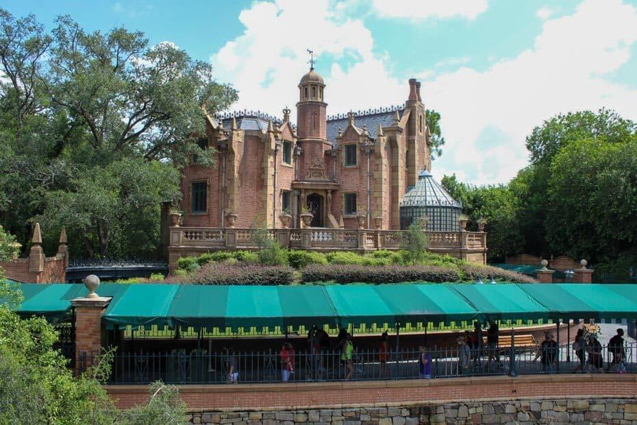 Haunted Mansion at Disney World
