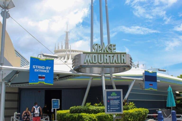 Space Mountain at Magic Kingdom Park