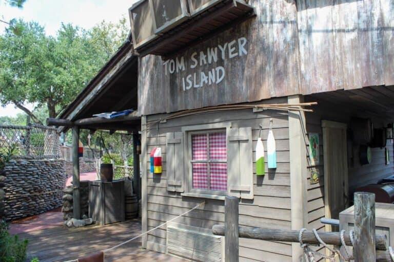 Tom Sawyer Island at the Magic Kingdom