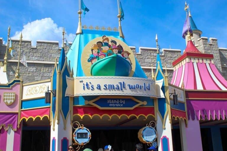 """""""it's a small world"""" at Disney's Magic Kingdom"""