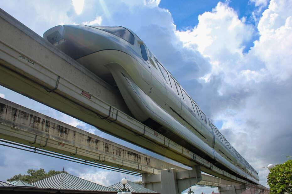 Monorail at Disney