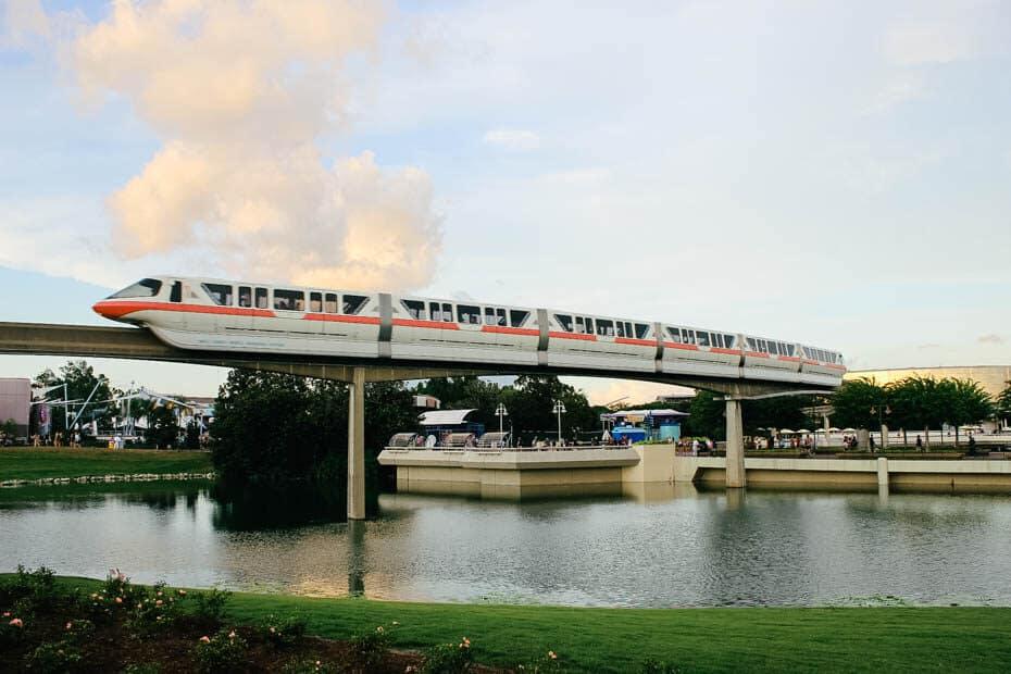 Monorail Updates for Walt Disney World