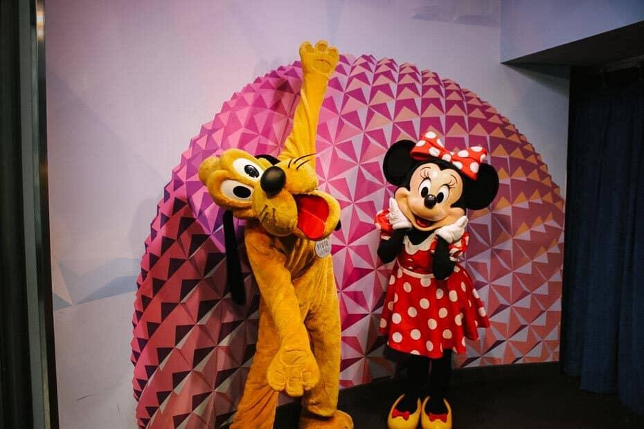 Disney Visa Characters