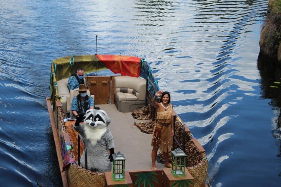 Meet Pocahontas at Disney