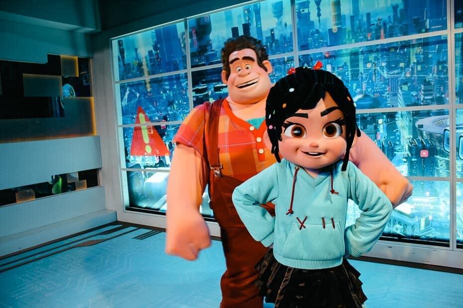 Meet Wreck It Ralph at Disney World
