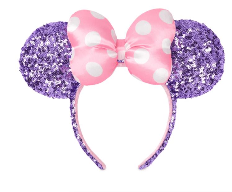 Disneyland Ears Minnie Ears Disney Ear Headband Choose Colors Minnie Mouse Ears Headband with Velvet Bow Minnie Ears Headband