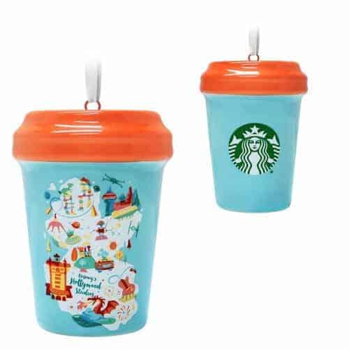 Disney Starbucks Ornaments