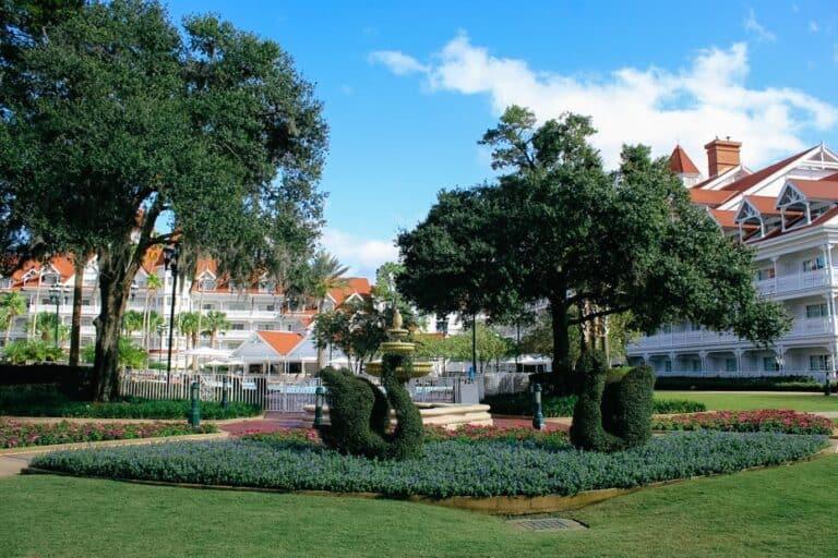Magic Kingdom Resorts & Hotel Area at Disney World